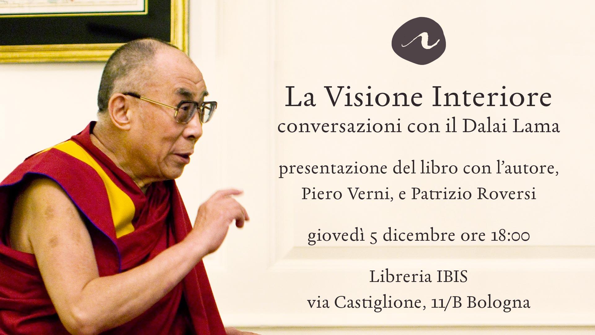 La visione interiore: la presentazione a Bologna