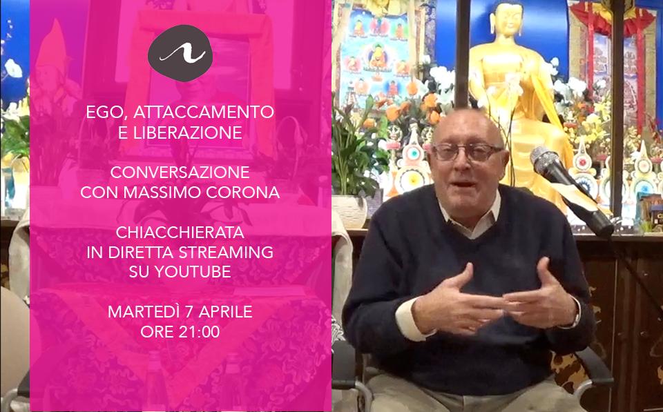 Massimo Corona presenta Ego, attaccamento e liberazione