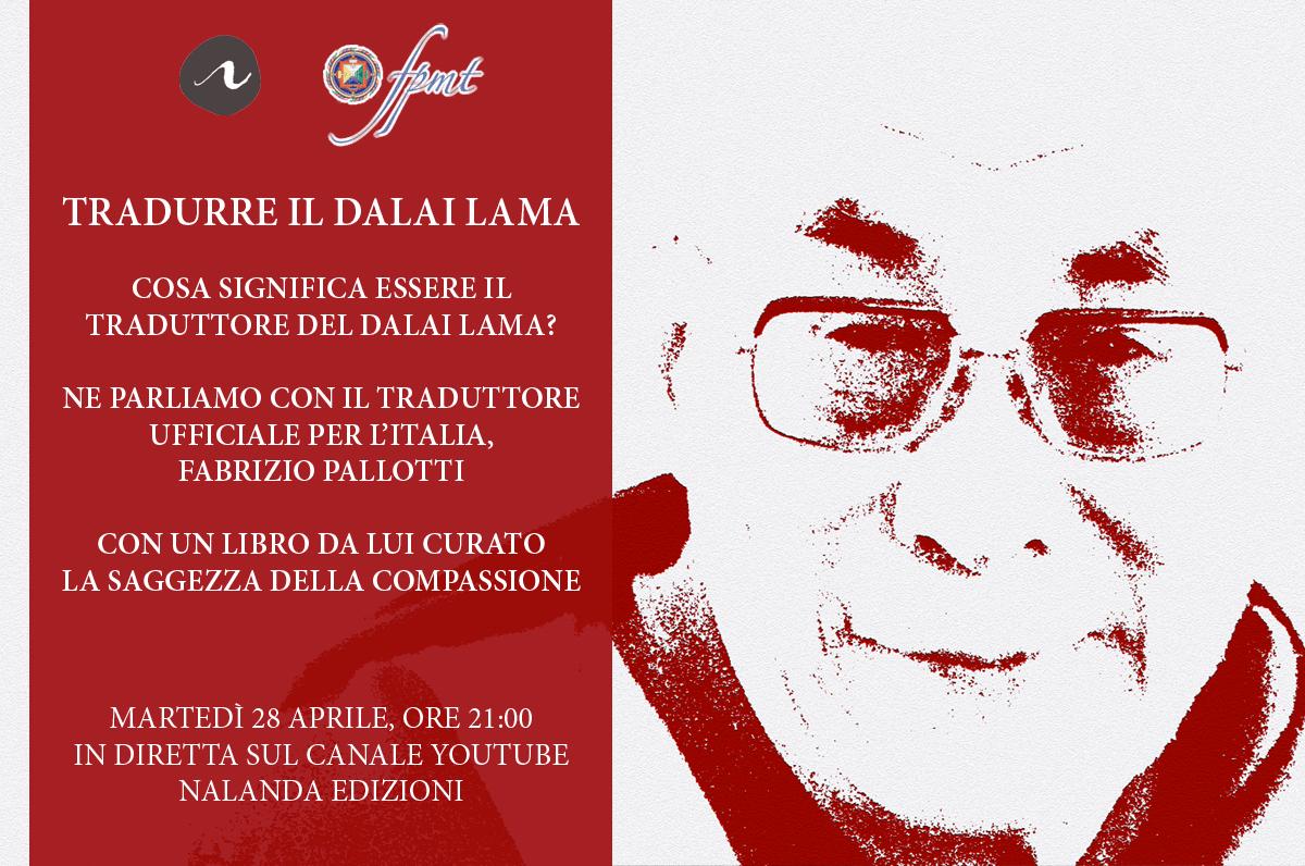 Tradurre il Dalai Lama • Incontro con Fabrizio Pallotti