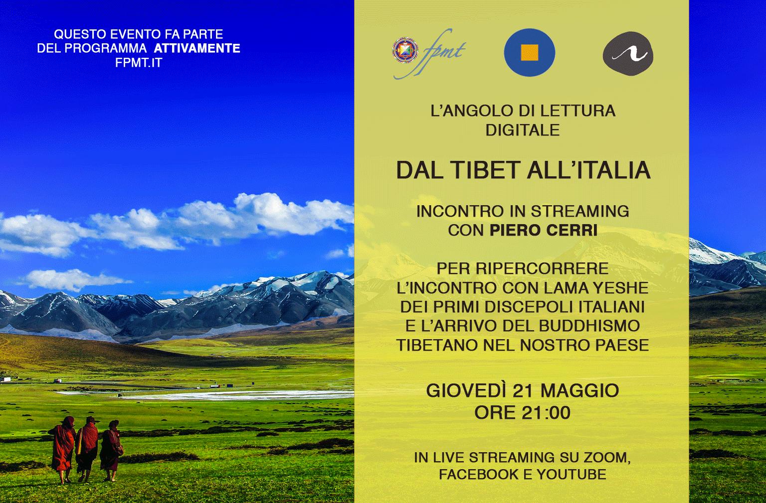 Dal Tibet all'Italia: conversazione con Piero Cerri