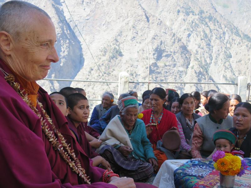 La meditazione Shamatha: domande e risposte con Jetsunma Tenzin Palmo